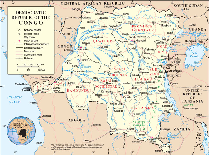 DRC-map